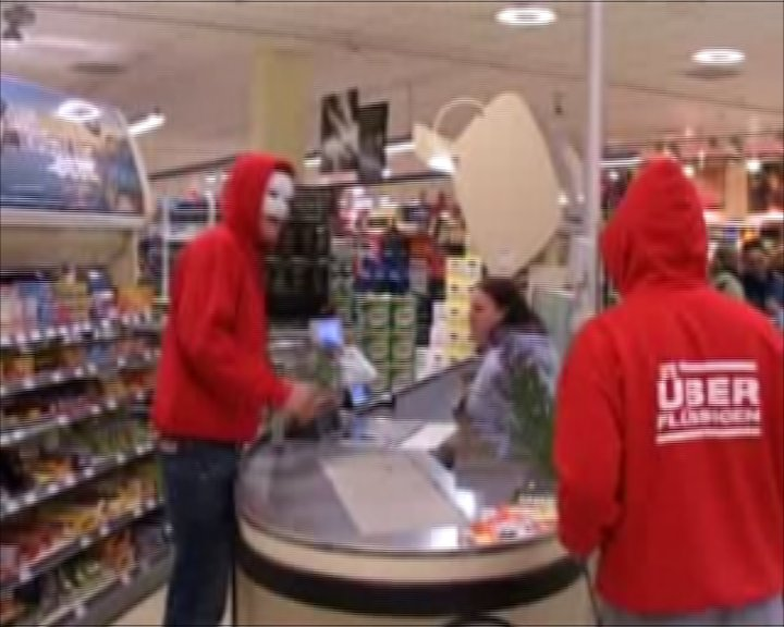 The superfluous visit the Kaiser's supermarket
