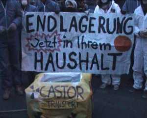 Demo gegen die Tagung des Atomforums - Reden 1