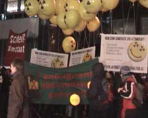 Demo gegen die Tagung des Atomforums - Reden 2