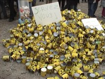 Demo gegen den EPR-Reaktor in Cherbourg (Normandie) - Teil 1