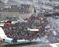 Demo gegen den EPR-Reaktor in Cherbourg (Normandie) - Teil 2