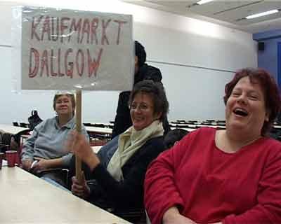 Streik im Einzelhandel