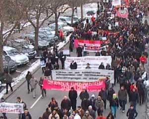 Demonstration: Bleiberecht für Alle