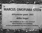 marcus omofuma gedenkstein - update