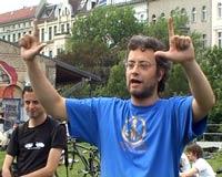 Blockadetraining – Zeichensprache