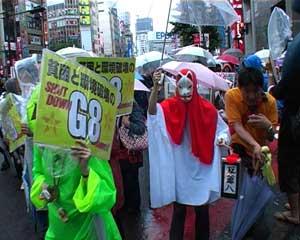 Demo gegen Prekarisierung und G8