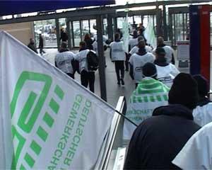 Berliner S-Bahner streiken
