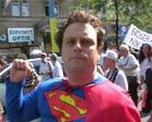 superman streikt