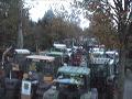 castor 05 - treckerblockade in Klein Gusborn