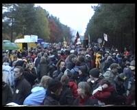 Auftaktkundgebung in Gorleben - November 2006