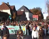 students' protest in Lüchow