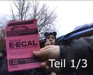 Sternhagel Sauer - E-EGAL live auf der Treckerblockade in Quickborn, 1. Teil