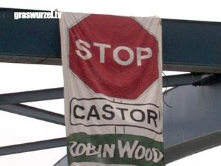 Robin Wood blockades CASTOR rail route