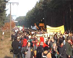 Demonstration in Gorleben