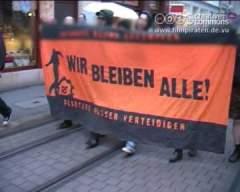 Besetztes-Haus-Party in Erfurt