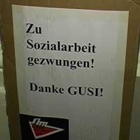 SPÖ Parteizentrale besetzt