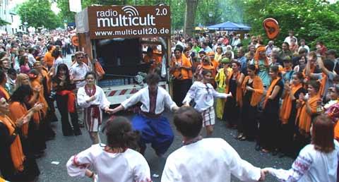 Beim Karneval der Kulturen
