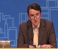 Mandelson unzufrieden