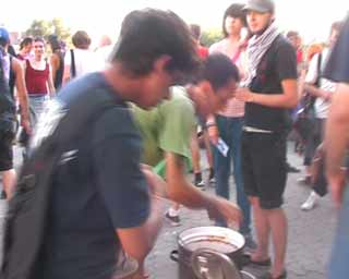 random video: Food not Bombs