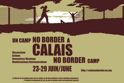 random video: No Border Camp in Calais