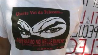 random video: Telecom Streik in Italien