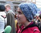 random video: studentInnen demo