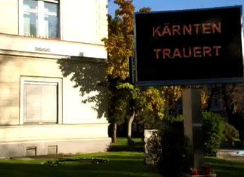 random video: Kärnten trauert