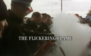 random video: A Flickering  Flame