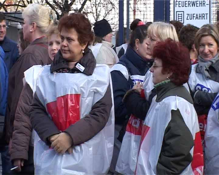 random video: Demo vor Wertheim