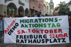 random video: Migrationsaktionstag in Freiburg 2006