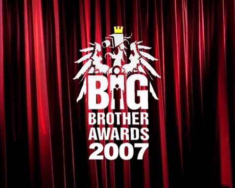random video: Big Brother Awards 2007