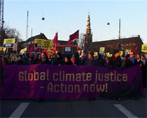 random video: COP PARADE- change the system not the climate